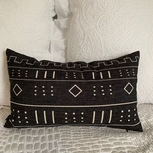 Other - Black + White Tribal Pillow
